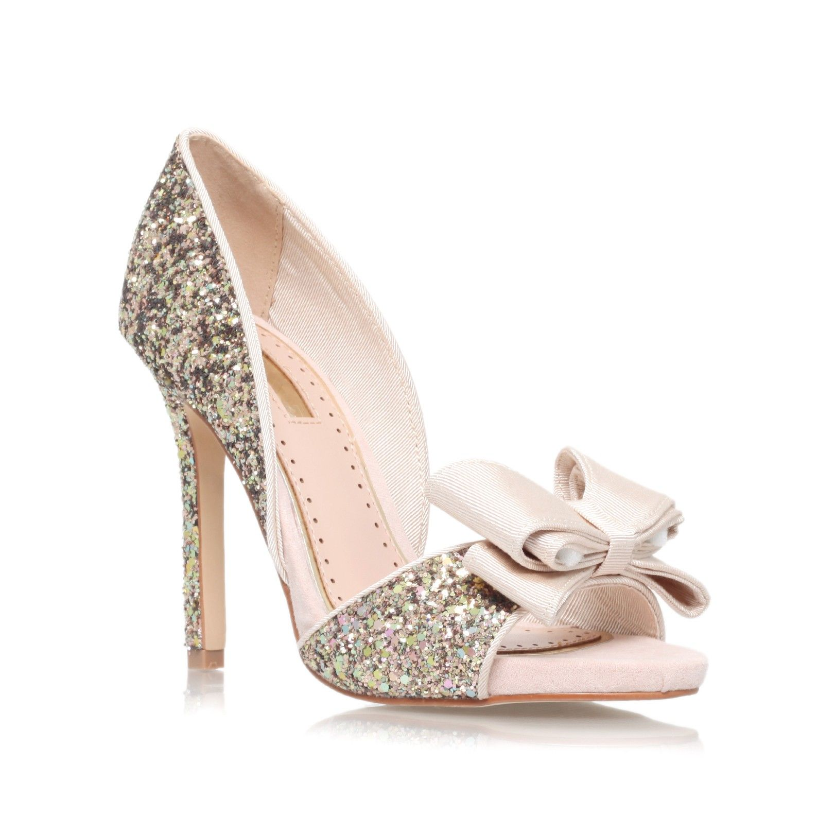 gabriella gold high heel occasion shoes from Miss KG