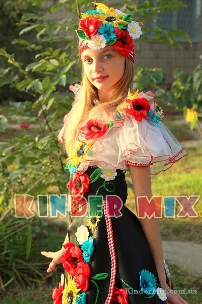 Украинский костюм для девочки своими руками  b050c3e726422