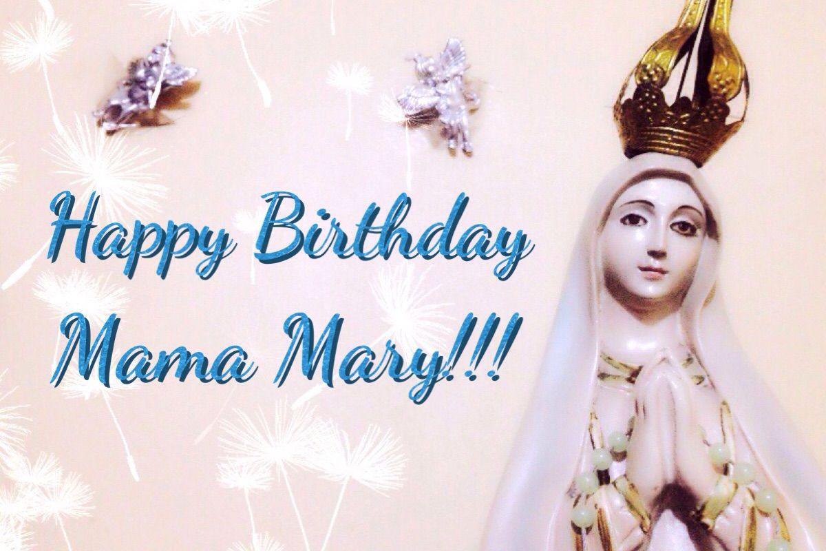 Mama Mary's Birthday ♱ عيد ميلاد العذراء مريم