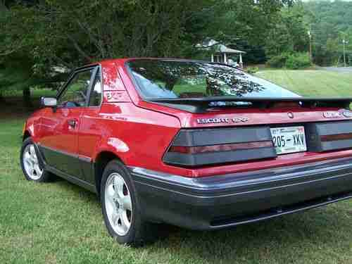 1988 Ford Exp Car Ford Motor Company Ford