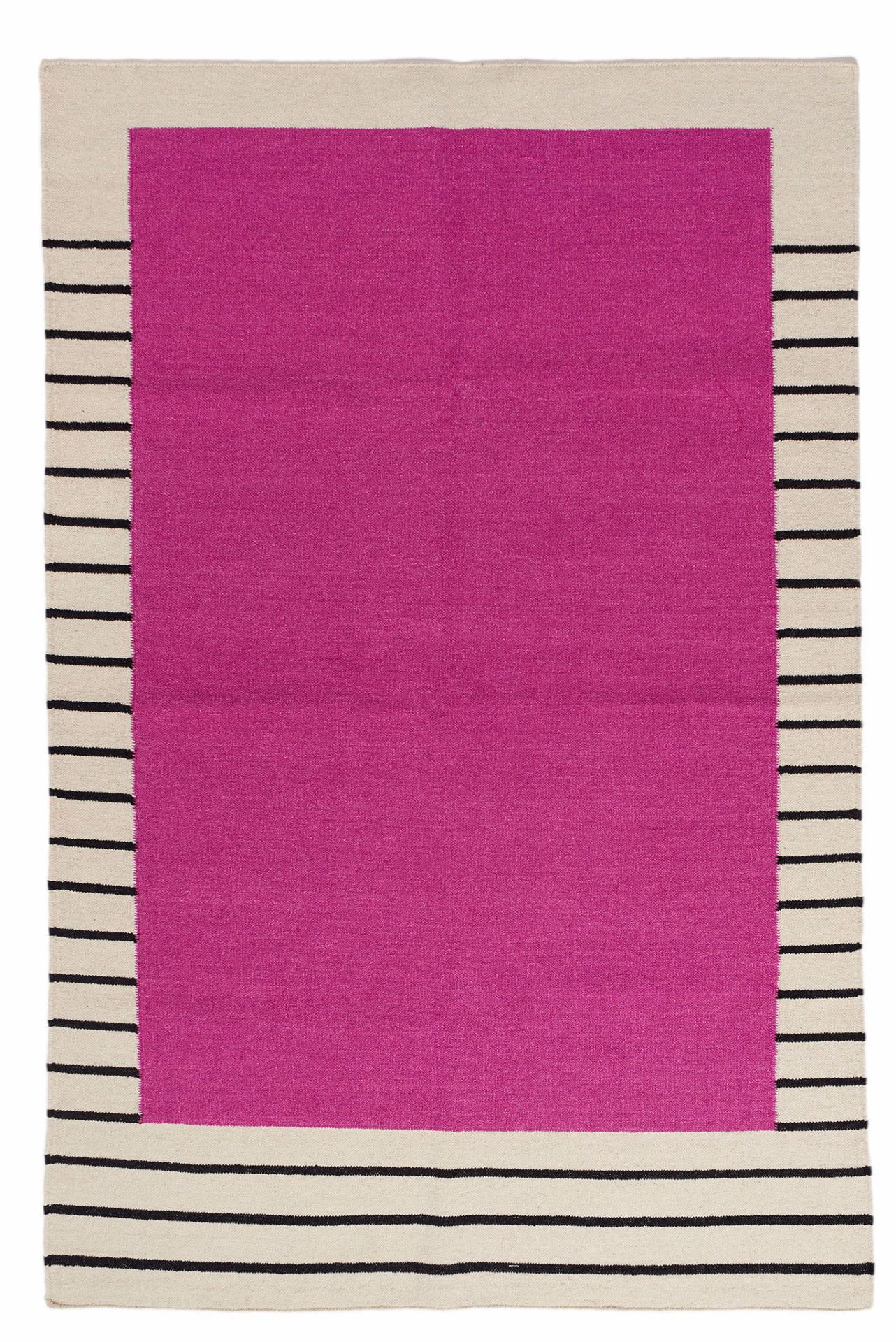 LAST CALL 8x10 Suzanne Flat-Weave Rug, Magenta
