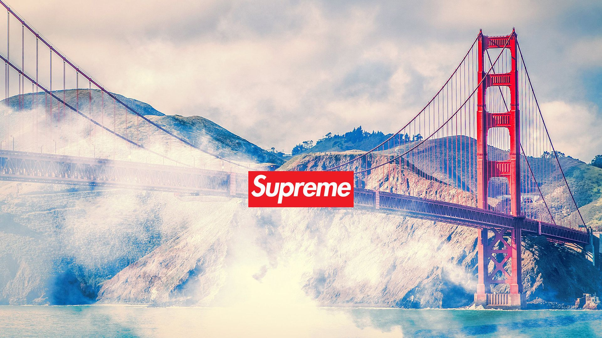 Products Supreme Golden Gate Hd Wallpaper Wallpaper Cart In 2020 Supreme Wallpaper Supreme Iphone Wallpaper Supreme Wallpaper Hd