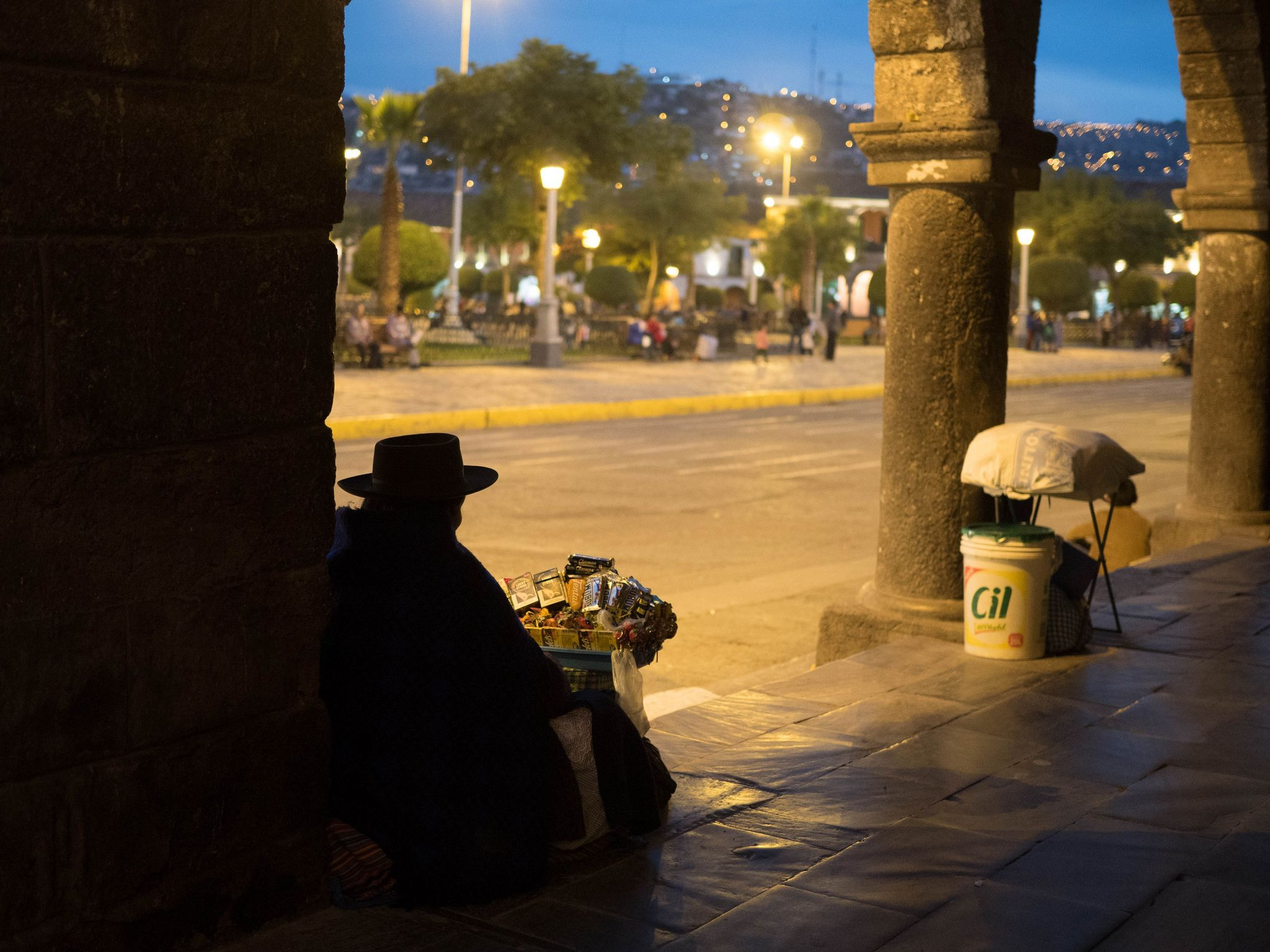 Otro anochecer en mi querido Ayacucho