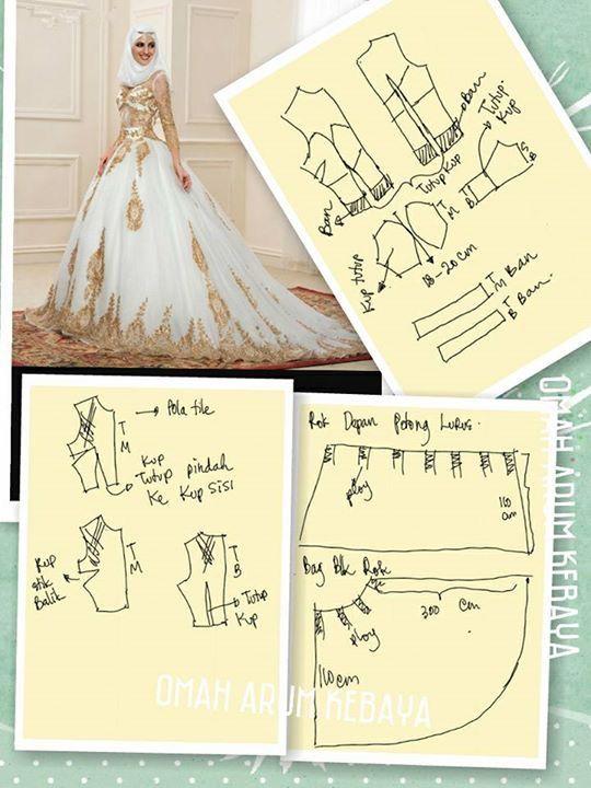 Pin de Afdhila Fauri en Kebaya | Pinterest | Vestidos de novia ...