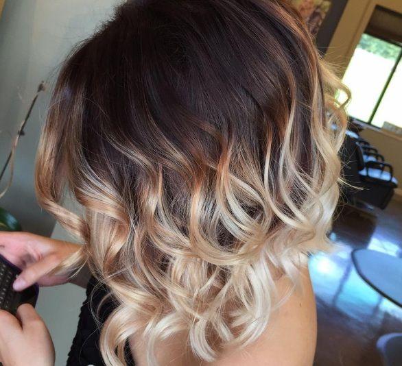 Ombr hair pour cheveux mi longs choisissez votre mod le pour 2017 cheveux coiffures et - Ombre hair carre plongeant ...