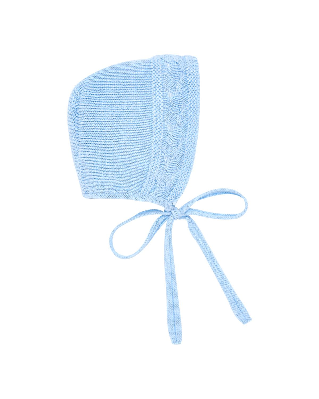 bcad1fcc1219 Cotton-Merino Wool Knit Baby Bonnet