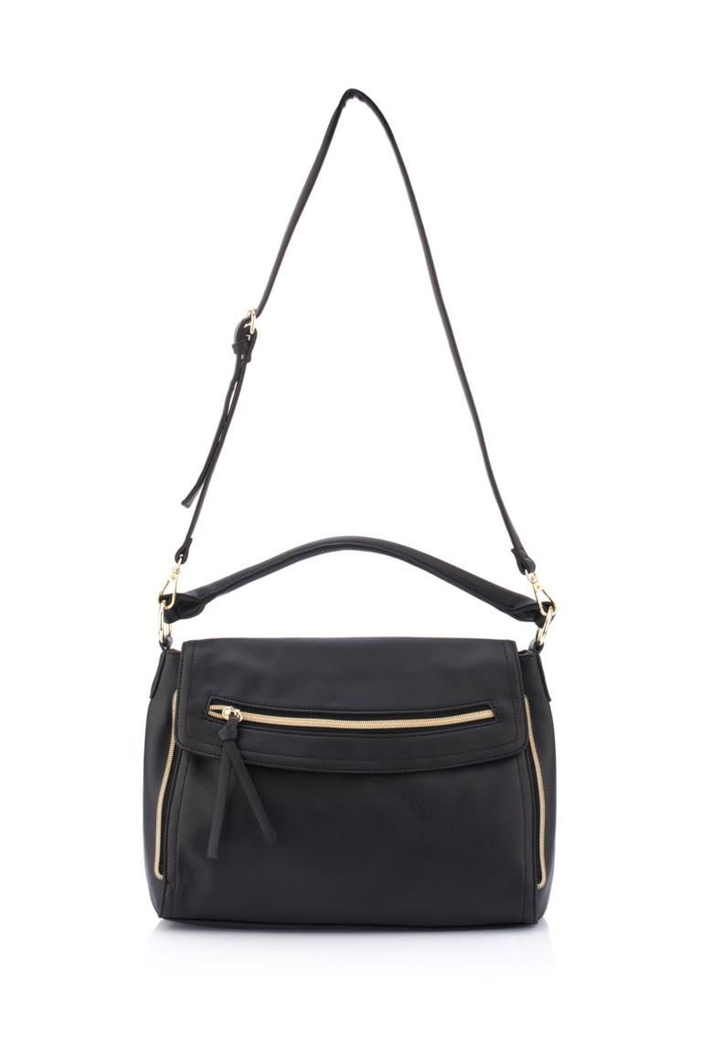 Siyah Kadin Omuz Askili Canta 358567 Handbag Women Handbags Bags