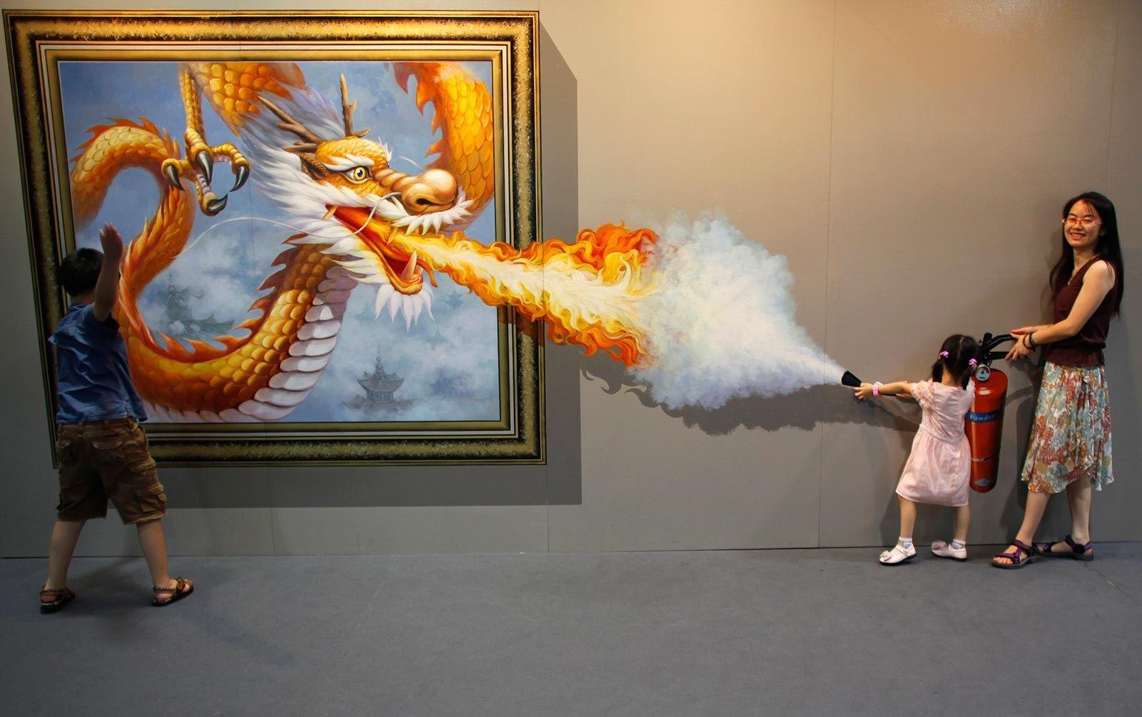 Photos illusion car moving optical illusion spectacular optical - Cool Optical Illusion We Love The Orange And Use Of Fire To Create