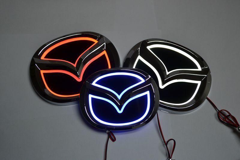 Carbon Fiber Emblem 3D Sticker Evil Batman For Mazda 6 3 CX-5 CX-3 Axela Atenza