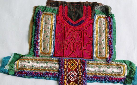 Beaded Banjara Gypsy Vintage Handmade Neck by coloursofspirit