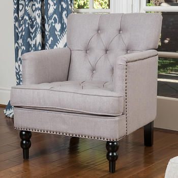 Petra Fabric Accent Chair And Ottoman Dining Room Chair