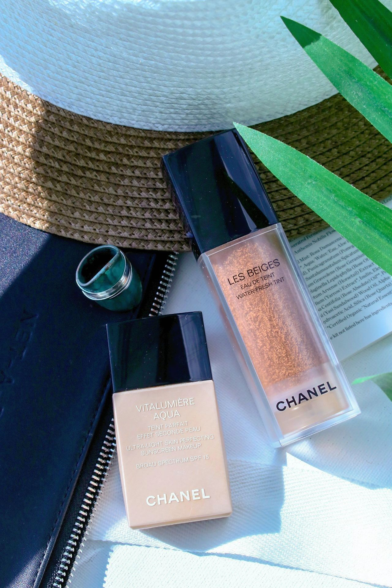 Chanel Les Beiges Natural Eyeshadow Palette and Water