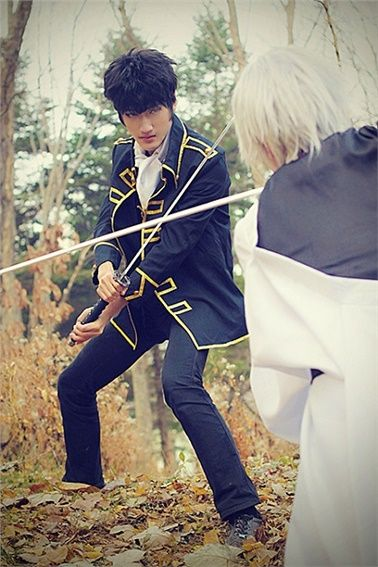 song dong whoan(바이너리) Hijikata Toshiro Cosplay Photo