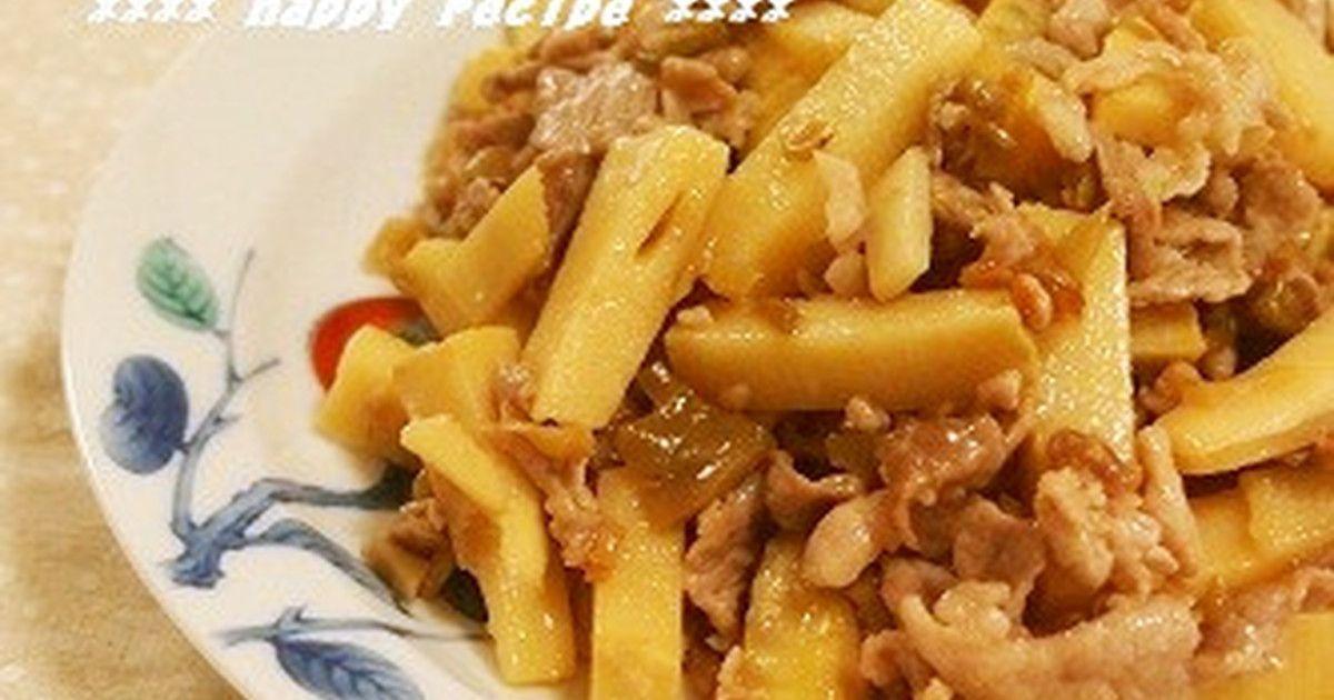 母の味✿豚肉と竹の子のザーサイ炒め