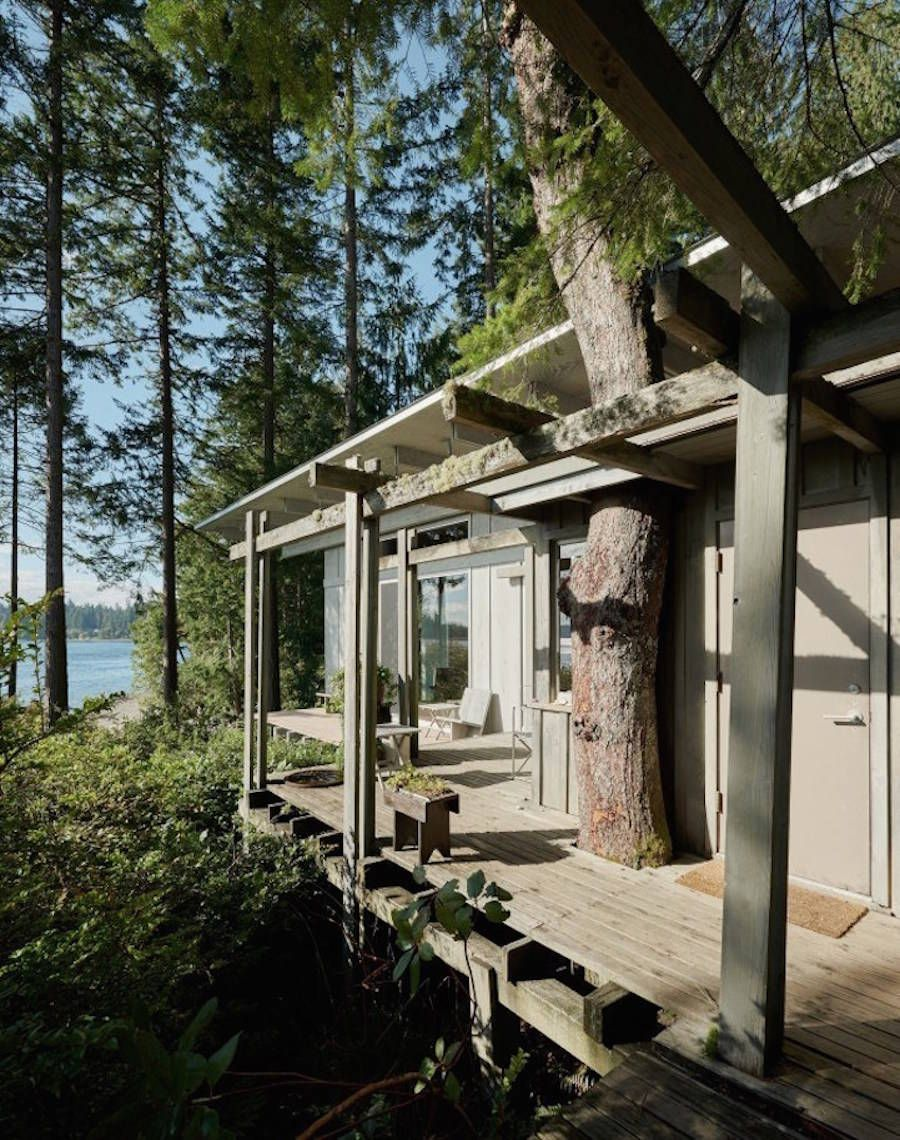Timeless Wood Cabin Continually Expanding Since 1959 – Fubiz Media