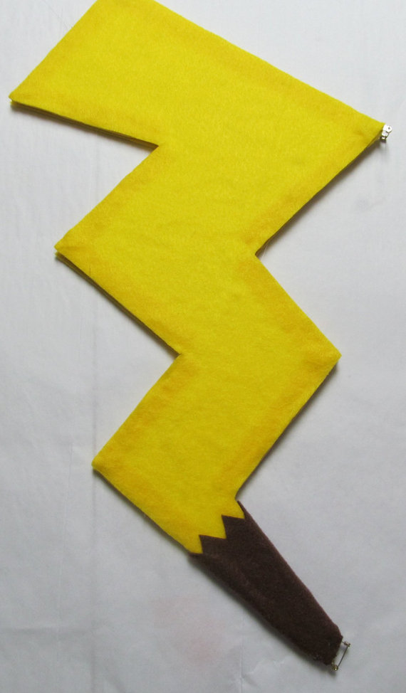Costume Pikachu Bambino.Halloween Pokemon Pikachu Tail Cosplay Costume Yellow Electric