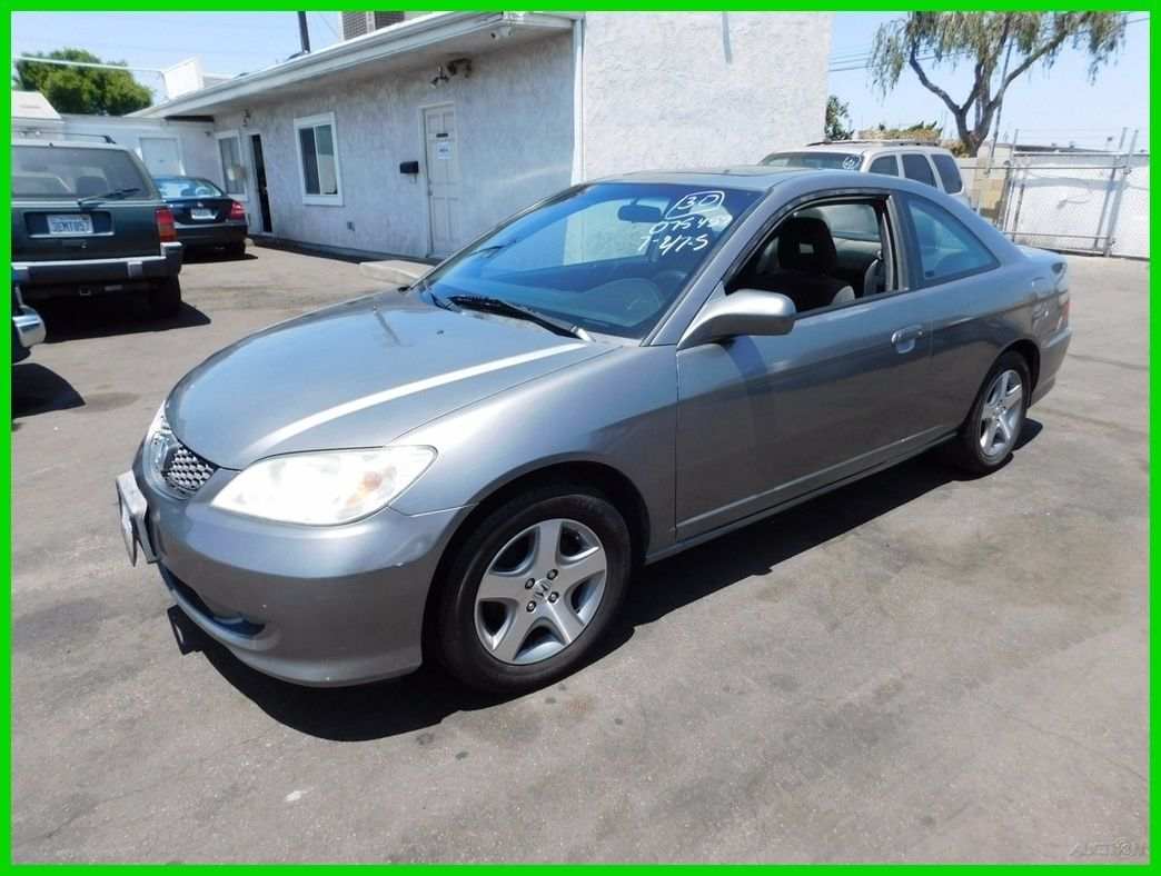 Car brand auctionedHonda Civic EX 2004 Car model honda