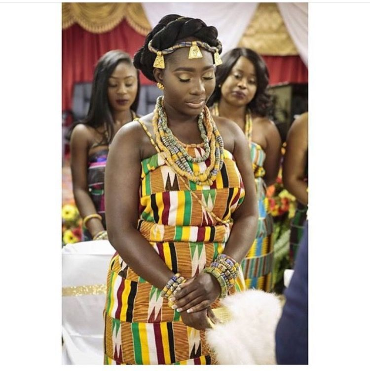 2c687b174 This is how I want to look for my traditional Ghanaian wedding ...