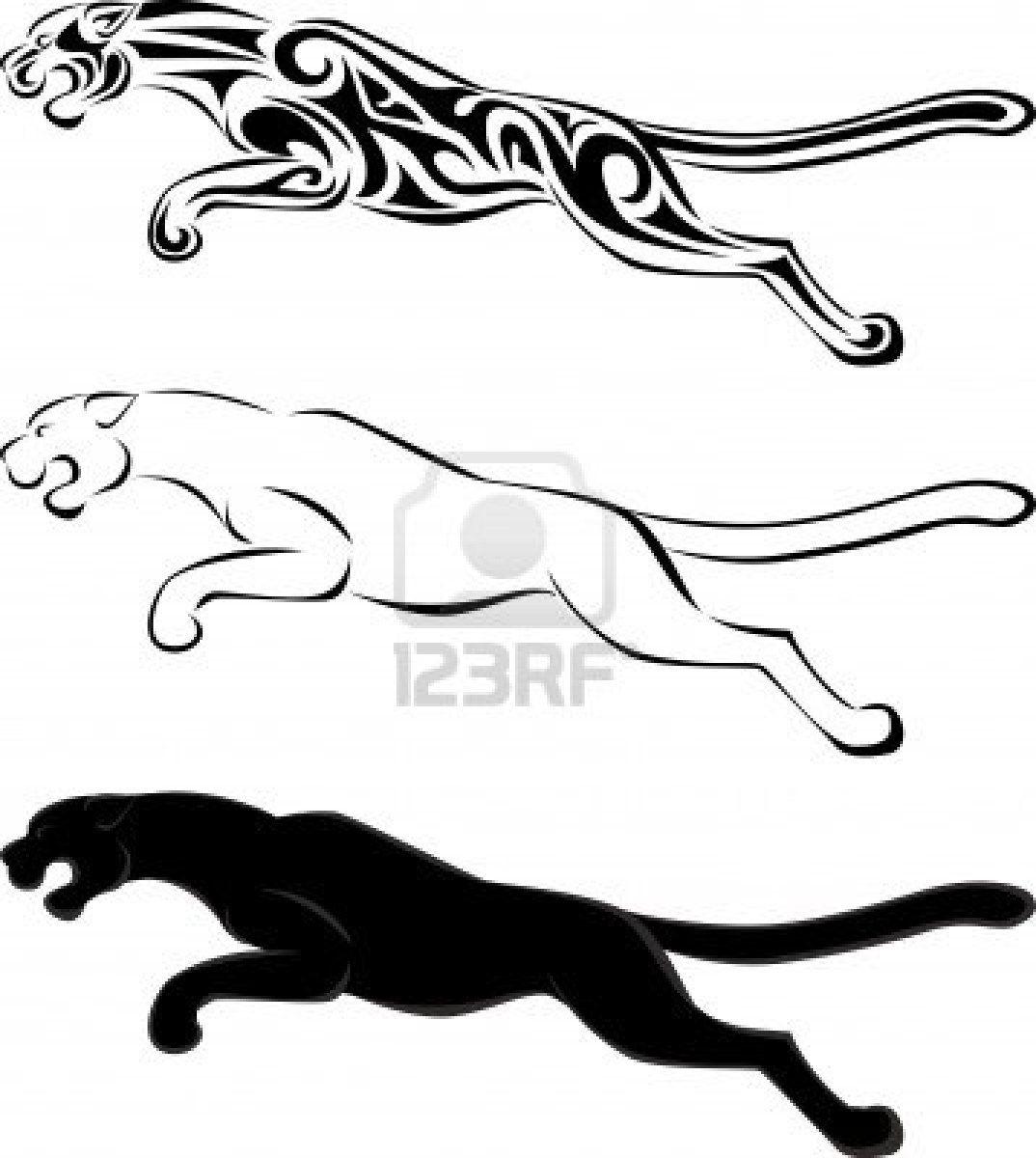 Jaguar Tattoos Designs Cliparts Vectors Free Download Tattoo 29255 Jaguar Tribal Tattoo Silhouette Tattoos Tribal Tattoos Jaguar Tattoo