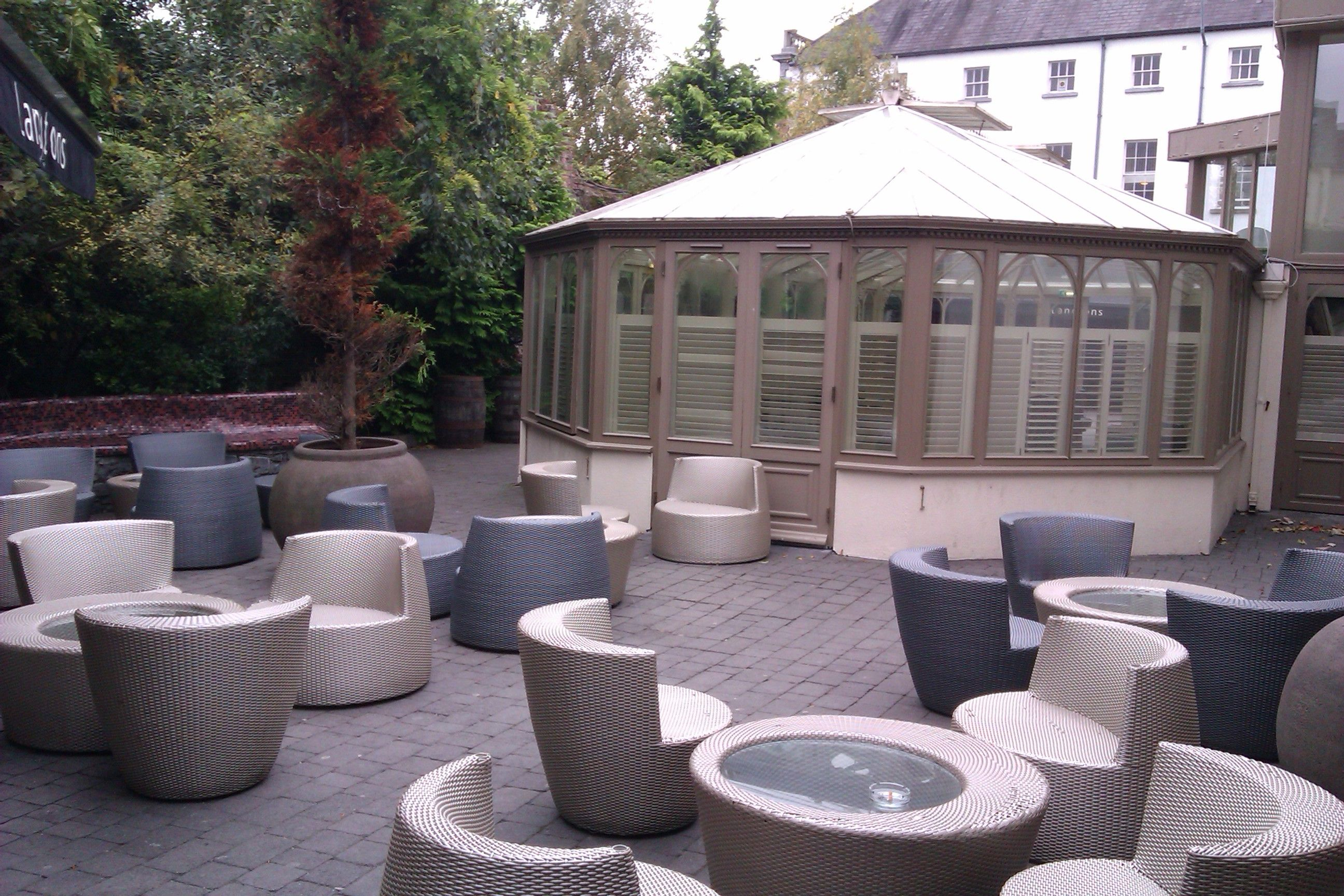 Garden Furniture Kilkenny beautiful conservatory and seating area - langtons kilkenny | my