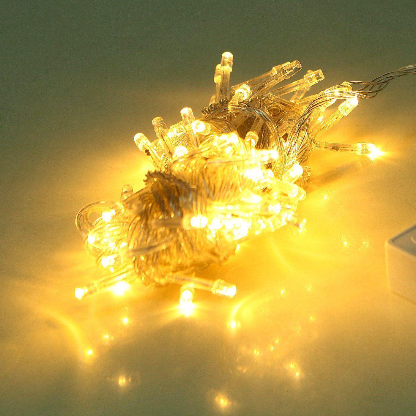 LED Indoor Outdoor Window Fairy Boho String Dorm Lights in 9 Colors