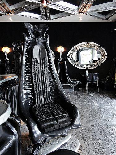 H.R. Giger's Harkonnen Chair