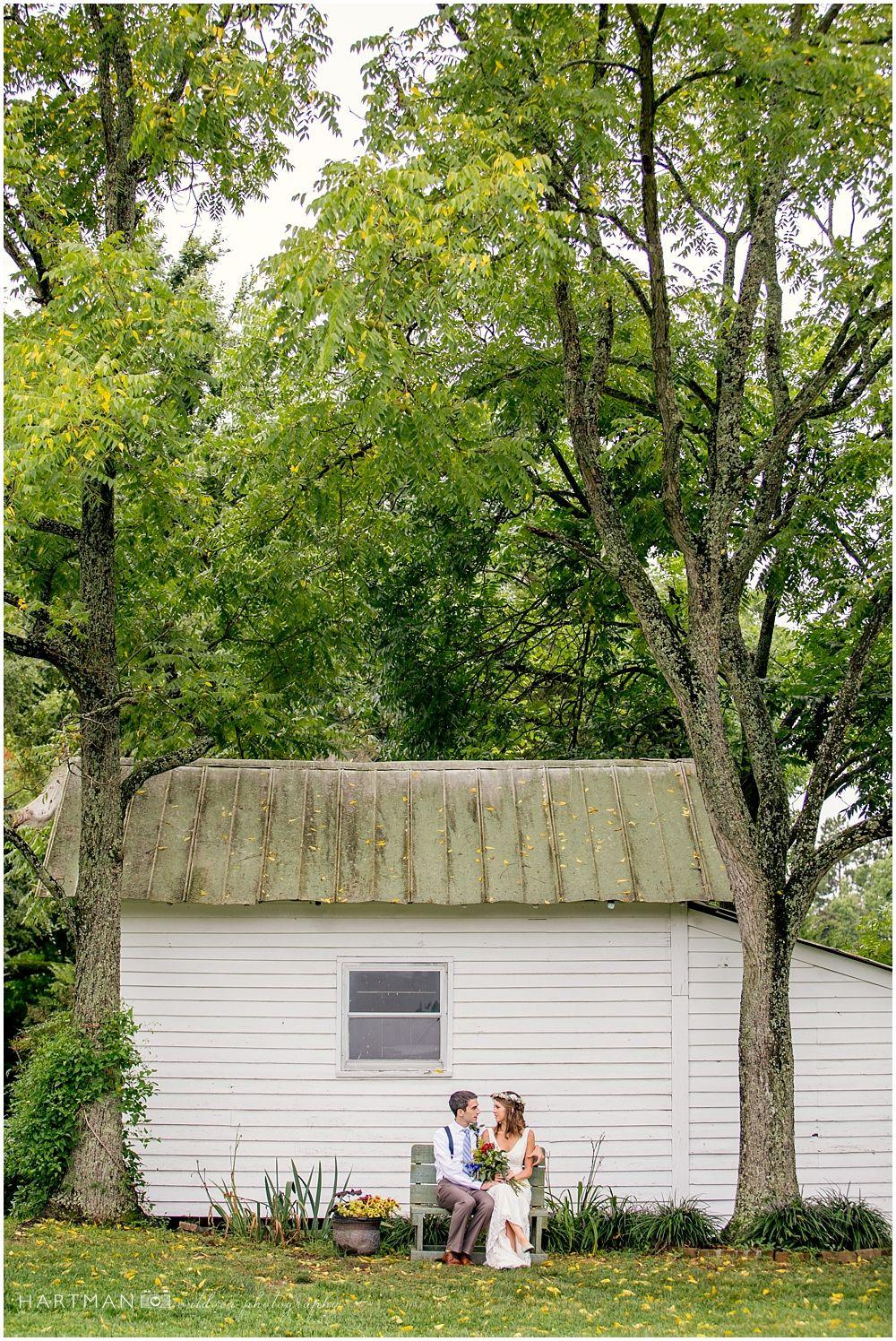 Hodgkin Valley Farm Wedding Pleasant Garden North Carolina Bride And Groom Under Tall Tree Rustic Portrait Bohemian Outdoor: Outdoor Wedding Venue North Carolina At Reisefeber.org