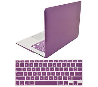 "Digital Basics 13"" Macbook Air Case with Keyboard Overlay - QVC.com"