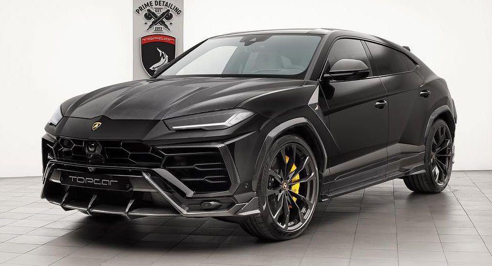 Lamborghini Urus Gets Extra Carbon Parts By Topcar For A Measly 40k Carscoops Lamborghini Classic Car Insurance Classic Cars