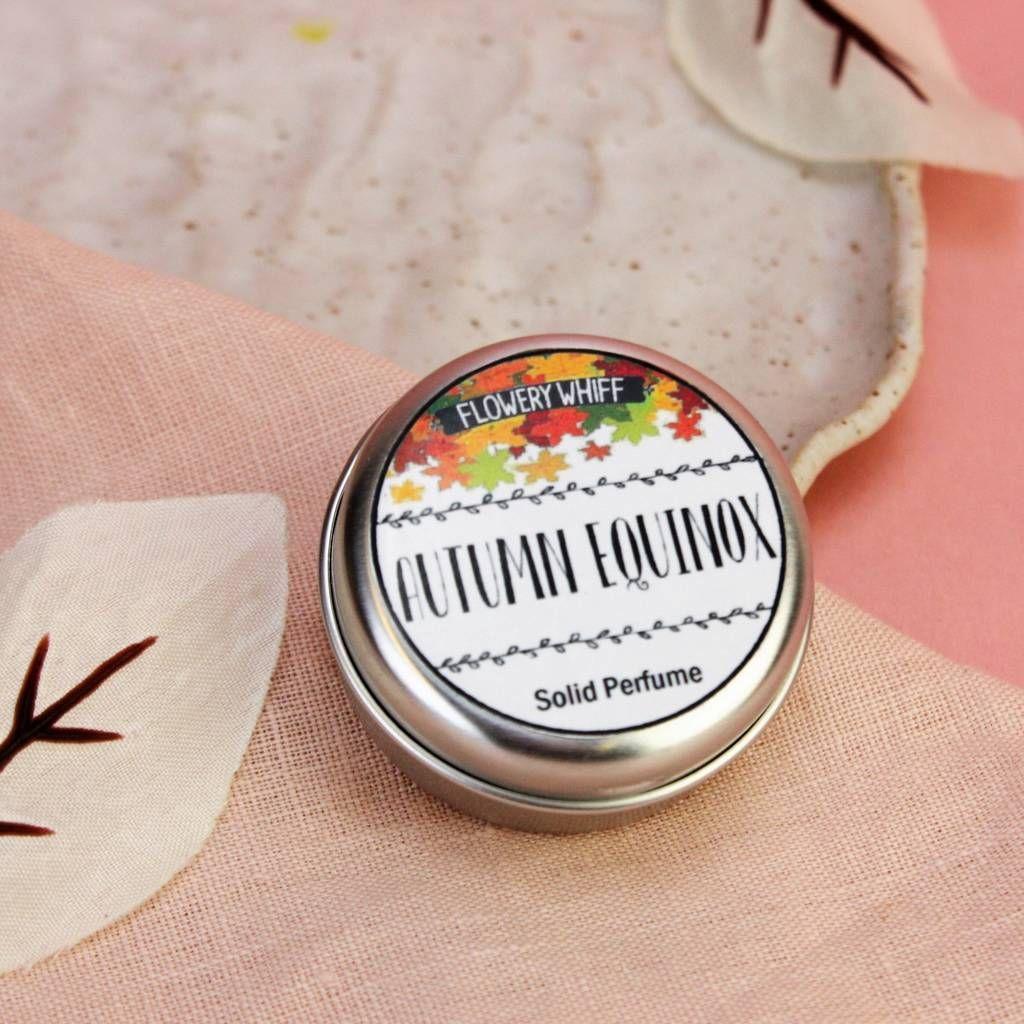 Autumn Equinox Solid Perfume #autumnalequinox Autumn Equinox Solid Perfume #autumnalequinox