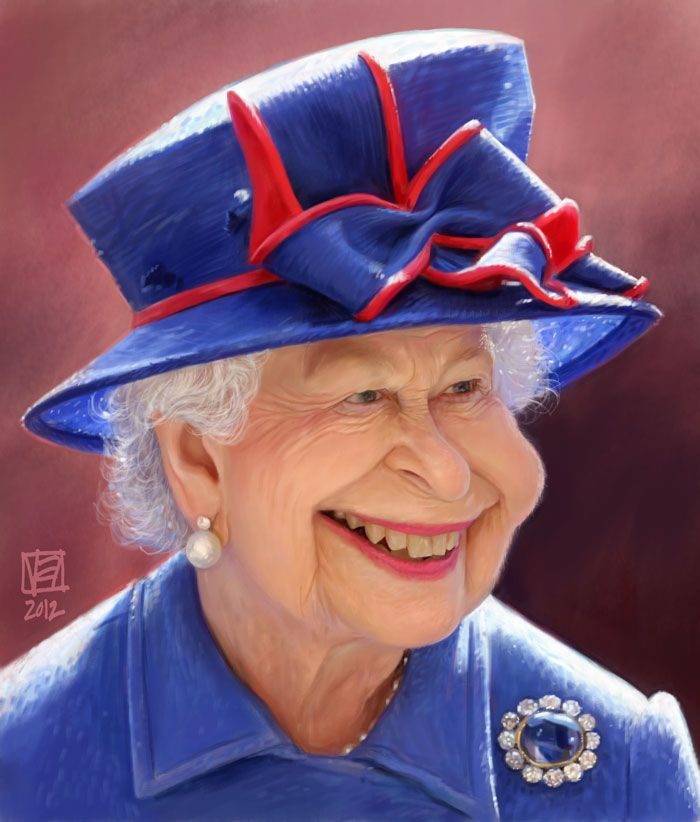 Her Majesty (by Vincenzo) ... lol this is really good!