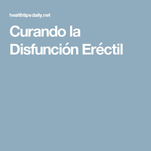 la disfunción eréctil cura con ejercicio
