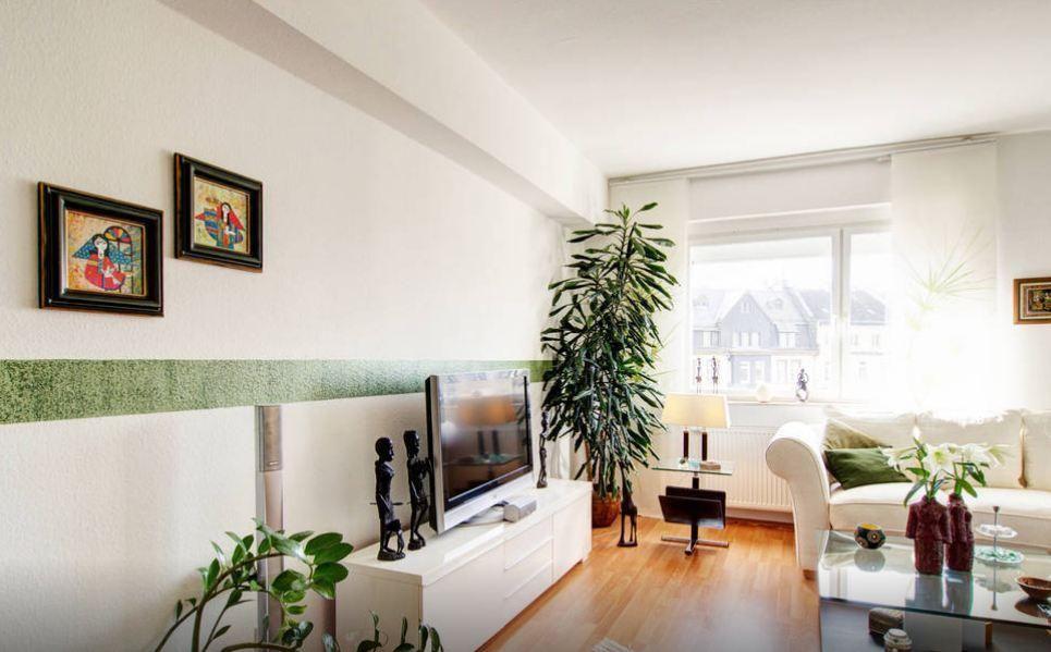Wohnzimmertraum in modernem 2-Zimmer-Apartment in Frankfurt am Main