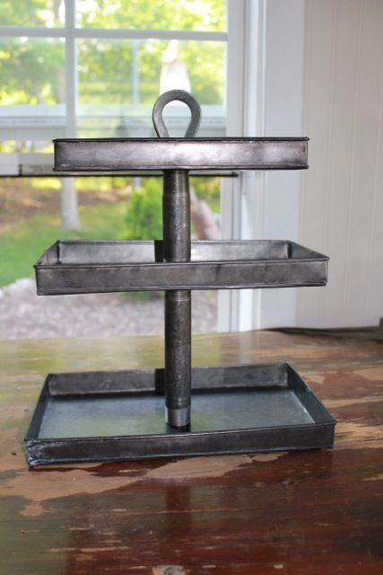 3 Tiered Tray Daisymaebelle Pottery Barn Diy Pottery Barn Hacks Diy Pottery