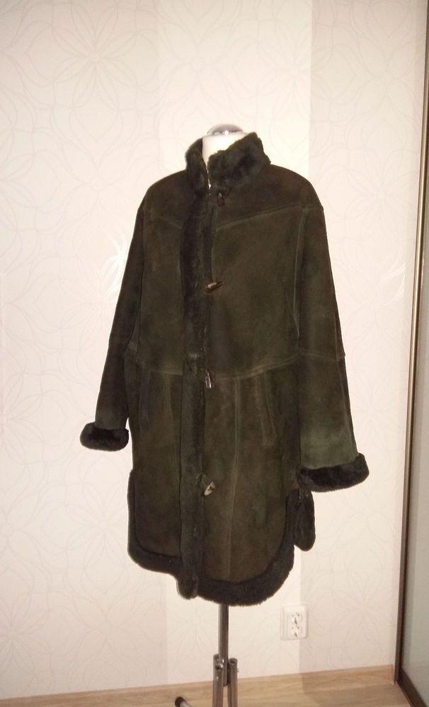 Lammfell mantel oversize