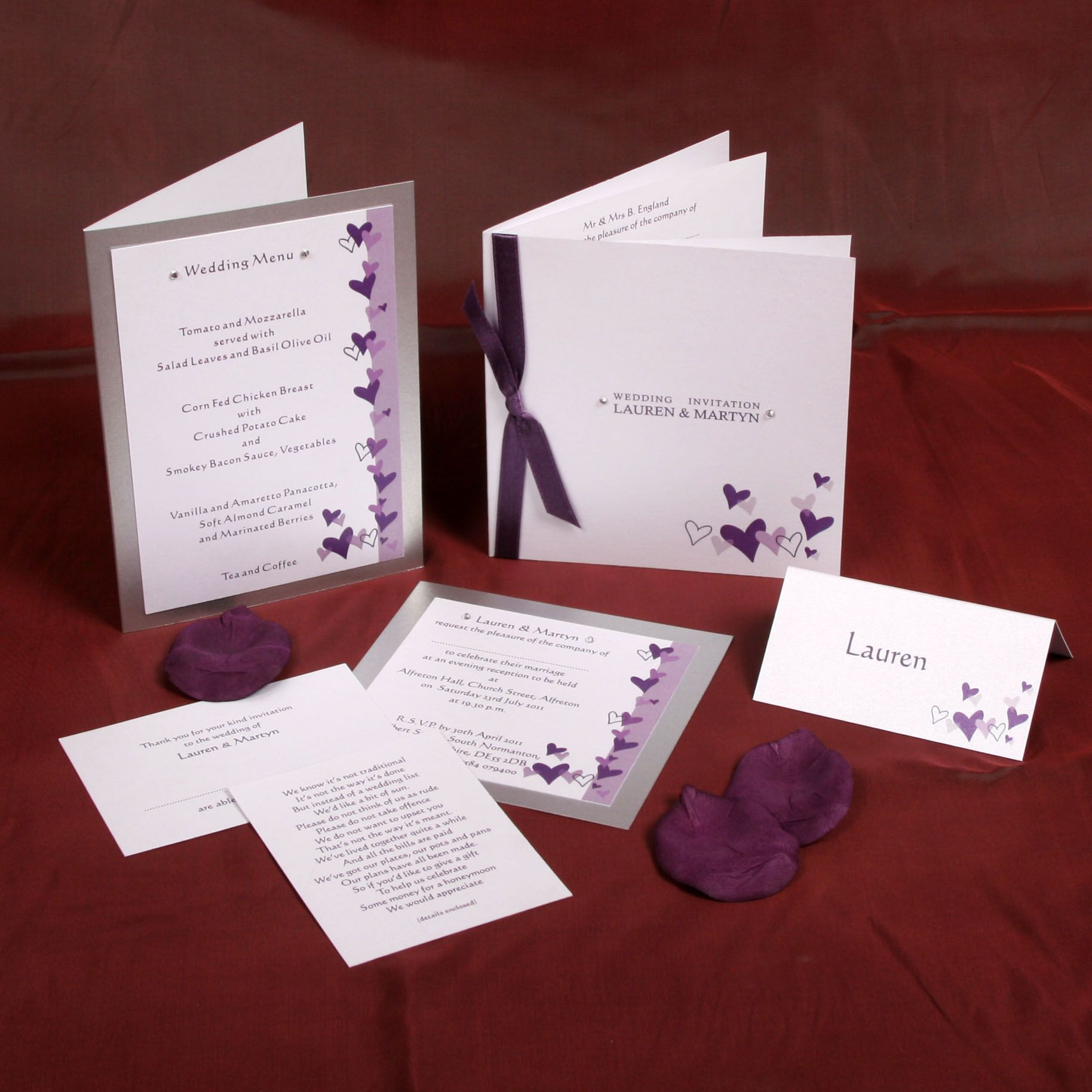 red wedding invitations uk - Google Search | WEDDING | Pinterest ...