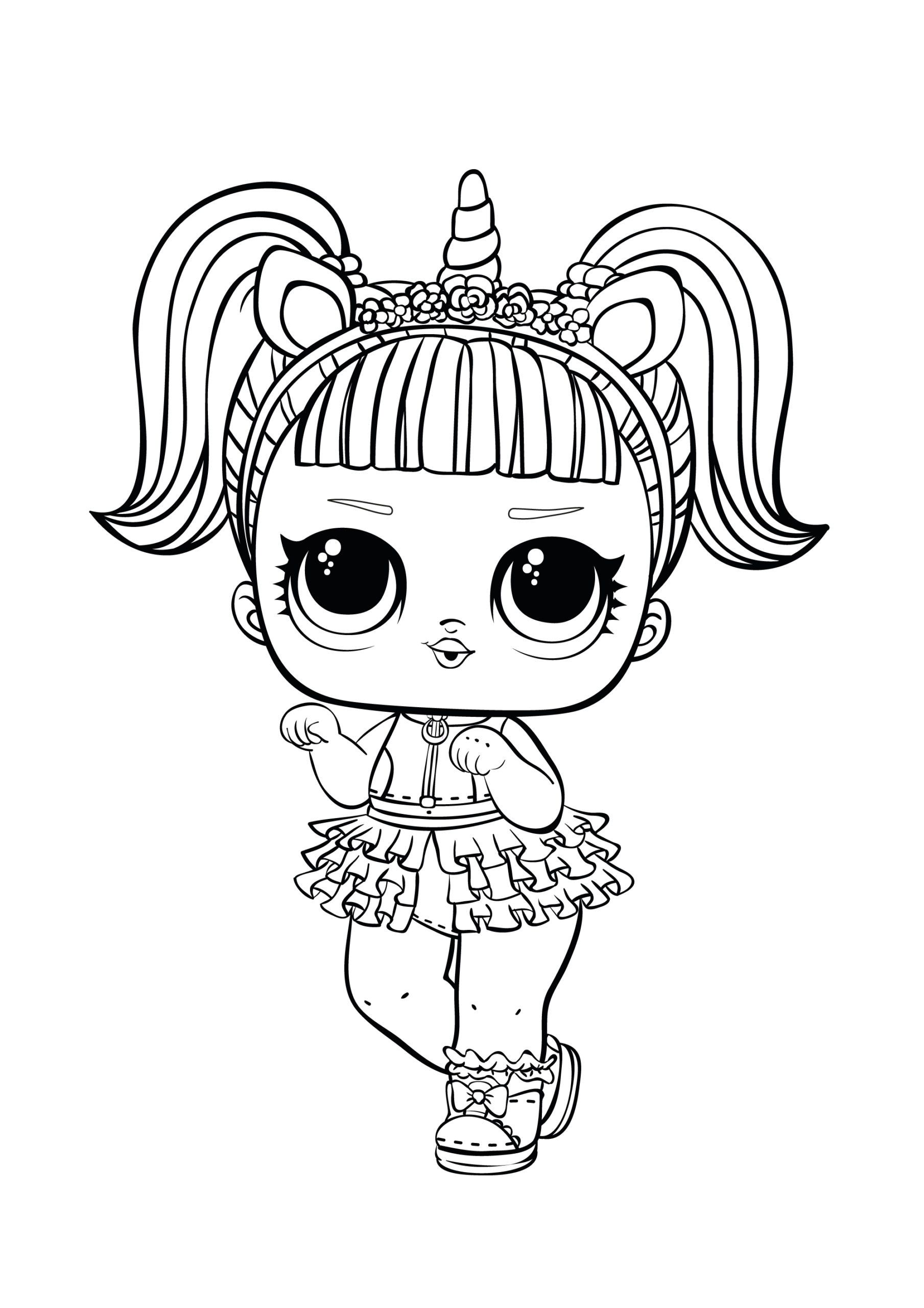 Unicorn Lol Coloring Page Youngandtae Com Unicorn Coloring Pages Kitty Coloring Hello Kitty Coloring