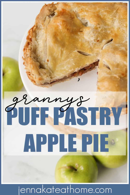 Granny S Puff Pastry Apple Pie Recipe Puff Pastry Apple Pie