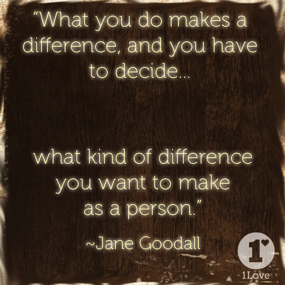 Jane Goodall Epic quotes, Cool words, Inspirational quotes