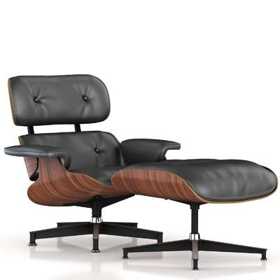 Herman Miller Eames Lounge And Ottoman Walnut Graphite Leather Eames Lounge Chair Replica Eames Style Lounge Chair Eames Lounge Chair
