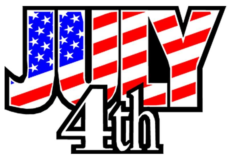 Happy 4th Of July Clipart 4th Of July Clipart Happy 4 Of July July Images