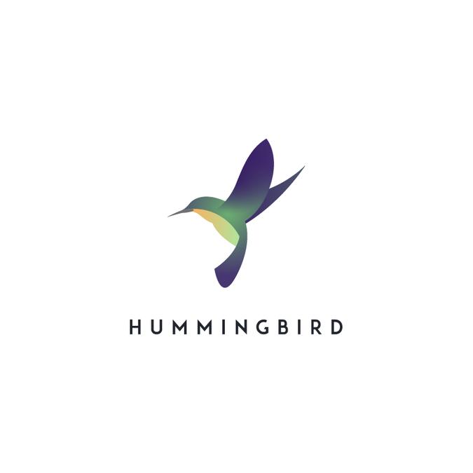 New Modern Hummingbird Logo By Steven Bell Design Pet Logo Design Logo Design Bird Logo Design