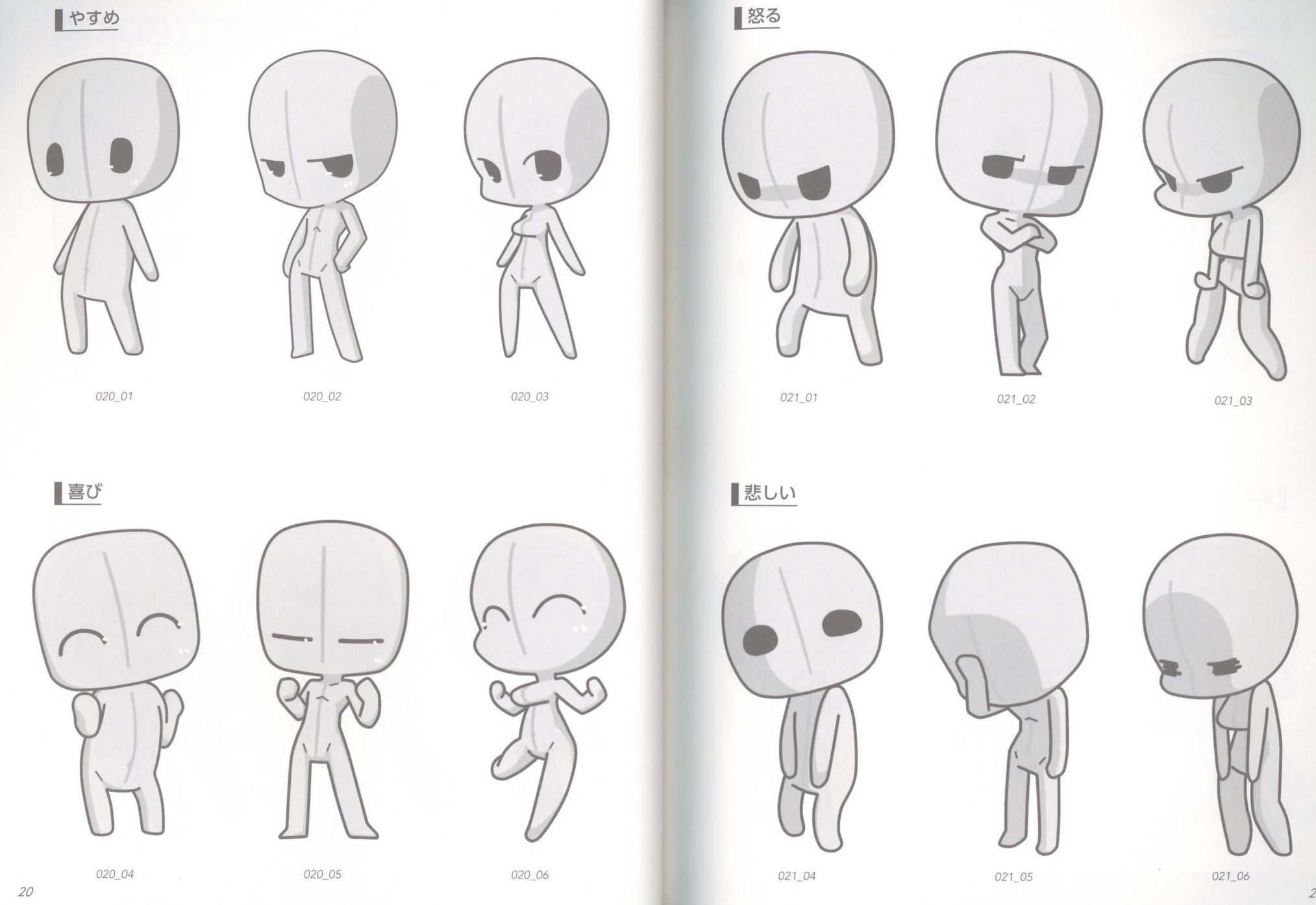 How To Draw Manga Super Deform Pose Chibi Character Ver Chibi Drawings Chibi Characters Chibi Sketch