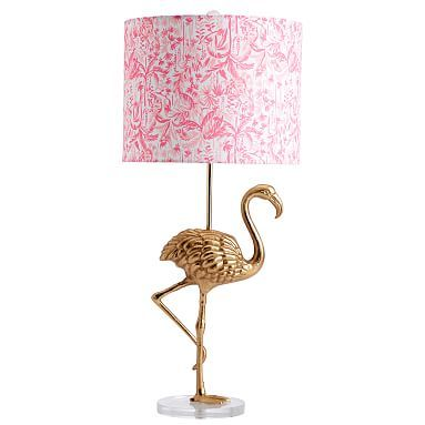 Lilly Pulitzer Flamingo Table Lamp Chic Rug Lilly