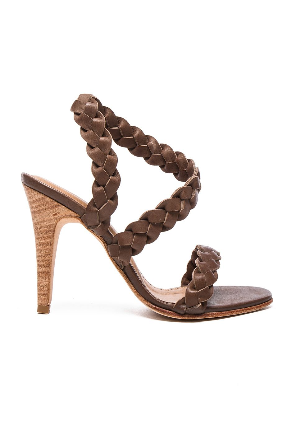 Ulla Johnson Leather Wrap-Around Sandals cheap price buy discount reliable cheap online outlet low shipping cost cheap price official site DYj94X8