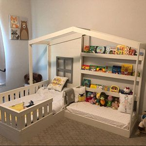 Solid Wood Ellie Playhouse loft bed