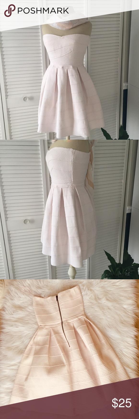 Blush bandage dress with full skirt my posh picks pinterest