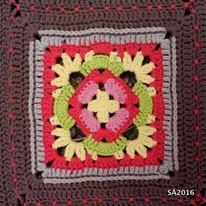 Seaside Winter Blanket CAL  Ruutukuvia ja linkkejä