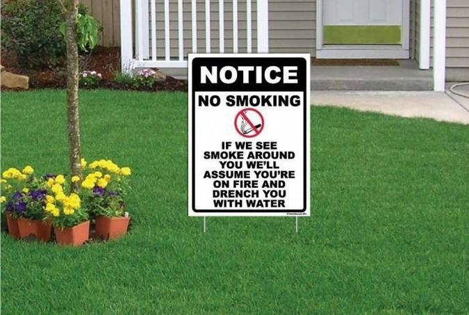 29 Of The Funniest Yard Signs You Ve Ever Seen Yard Signs