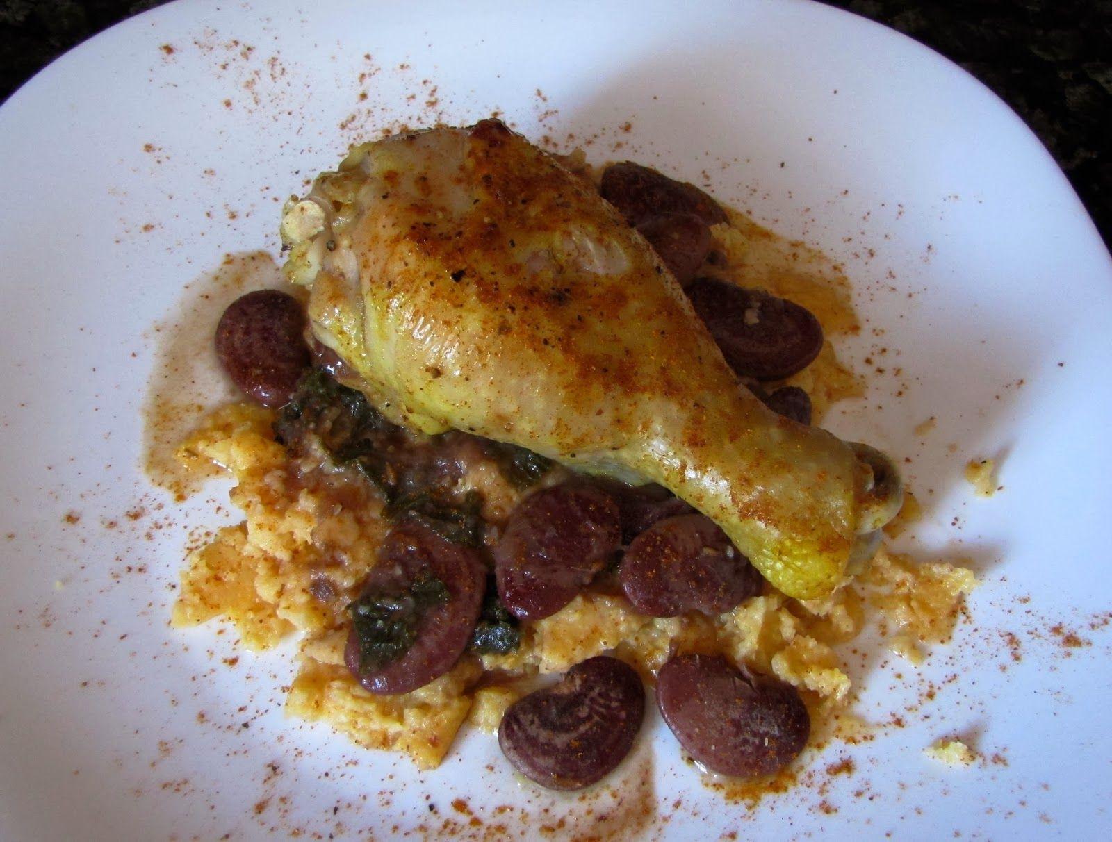 Spicy DC Blog: Easy Weeknight Dinner - Chermoula Buttermilk Roast...